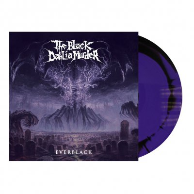 shop - Everblack | Purple/Black A Side/B Side Melt Vinyl