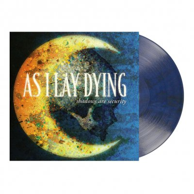 As I Lay Dying - Shadows Are Security | Blue/Black Marbled Vinyl