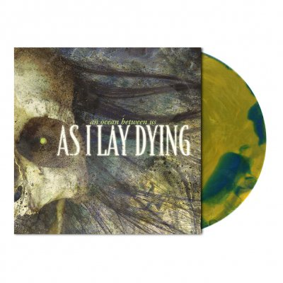 As I Lay Dying - An Ocean Between Us | Ochre/Blue Melt Vinyl