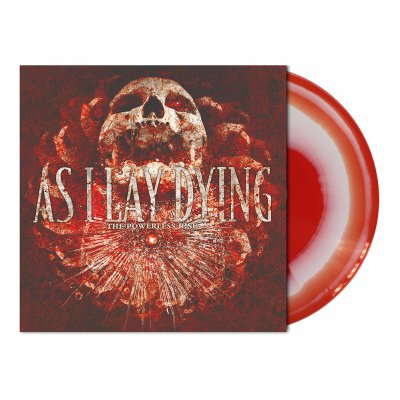As I Lay Dying - The Powerless Rise | White/Red Melt Vinyl