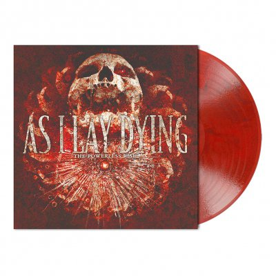 shop - The Powerless Rise | Red/Black Marbled Vinyl