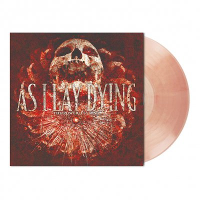 As I Lay Dying - The Powerless Rise | Clear/Red Marbled Vinyl