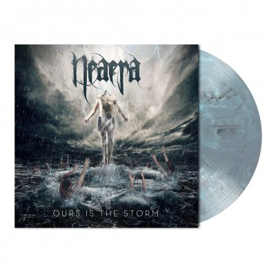 shop - Ours Is The Storm | Ice-Blue/Black Marbled Vinyl