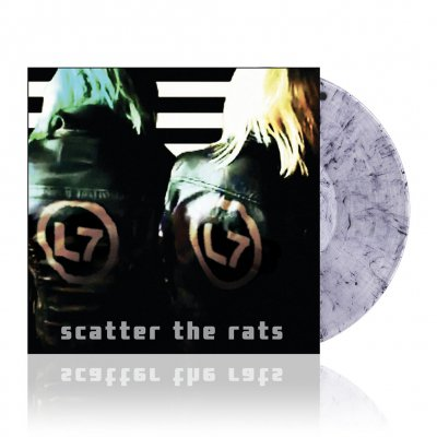 l7 - Scatter The Rats | Clear w/Black Vinyl