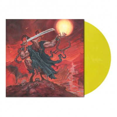 metal-blade - Satan's Boundaries Unchained | Yellow/White Marble