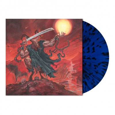 Satan's Boundaries Unchained | Blue/Black Splatter