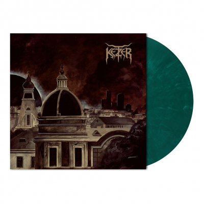 shop - Endzeit Metropolis | Green/White Marbled Vinyl