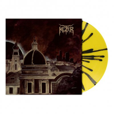 Endzeit Metropolis | Yellow/Black Splatter Vinyl