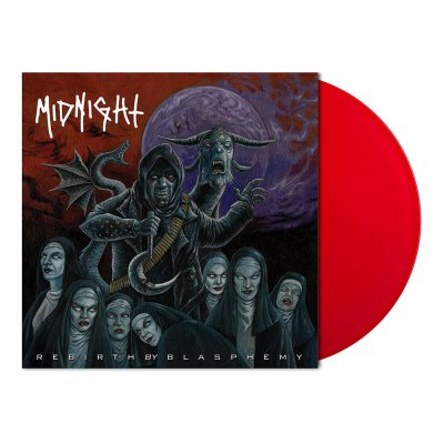 shop - Rebirth By Blasphemy | Red Vinyl 7 Inch