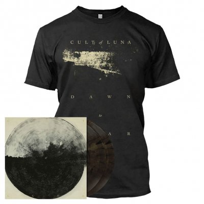 metal-blade - A Dawn To Fear | CVR2-2xClear Gray Marbled Vinyl Bundle