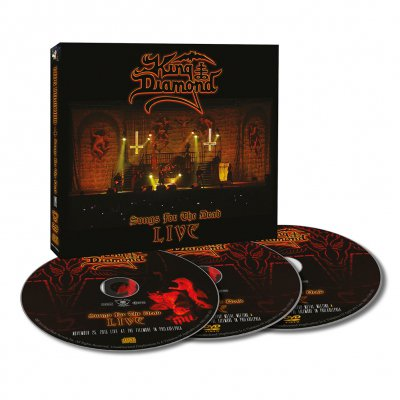 King Diamond - Songs For The Dead Live | CD+2DVD