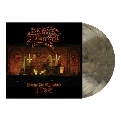 King Diamond - Songs For The Dead Live | 2xClear/Ash Grey Marbled
