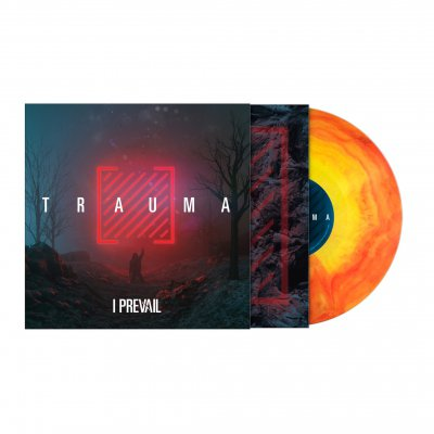 Trauma | Trans Yellow Orange Galaxy Vinyl