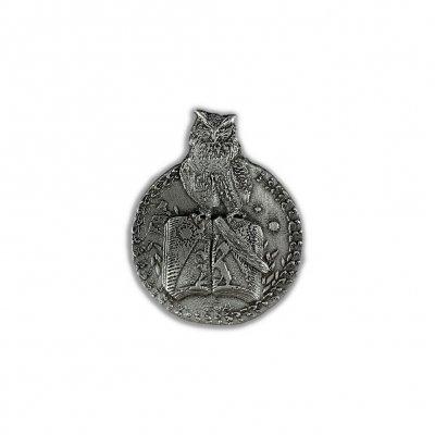 shop - Owl Emblem | Enamel Pin