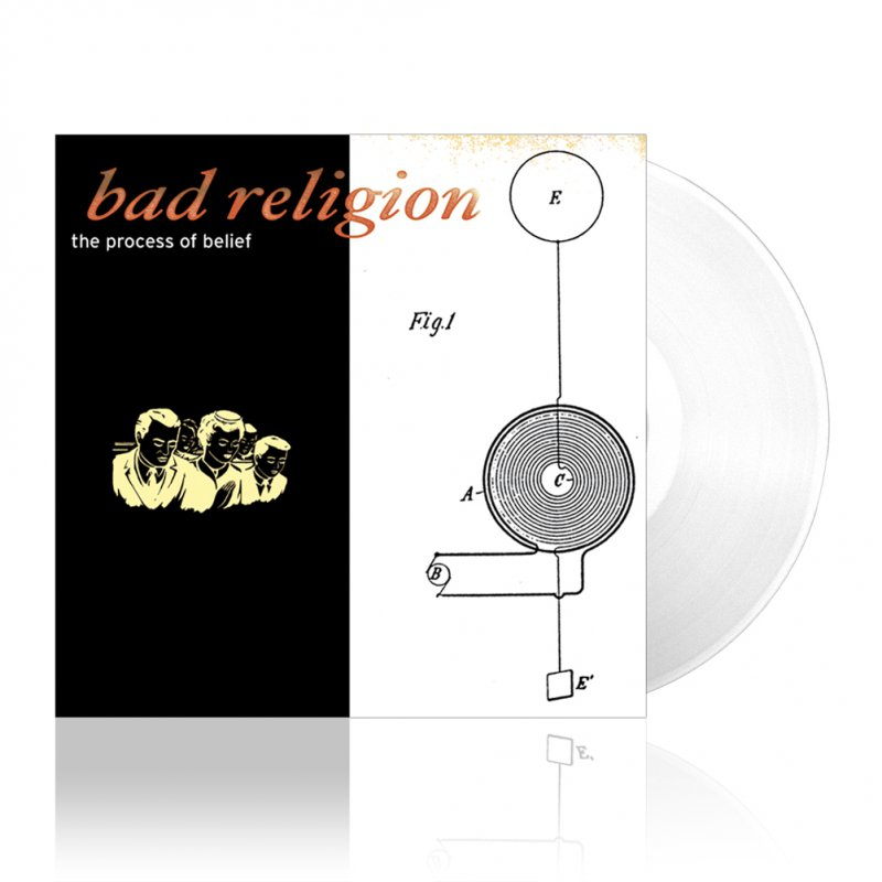 Bad Religion - Process Of Belief | Clear Vinyl
