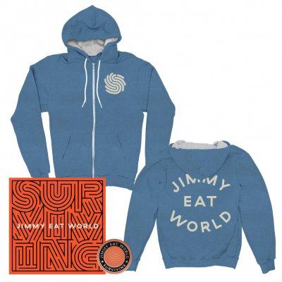 jimmy-eat-world - Surviving | CD + Pin + Zip Hood Bundle