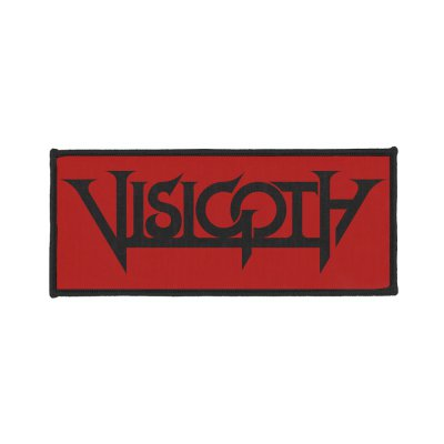 visigoth - Red Logo | Woven Patch