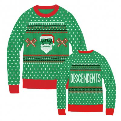 Descendents - Santa Milo Green | Knit Sweatshirt