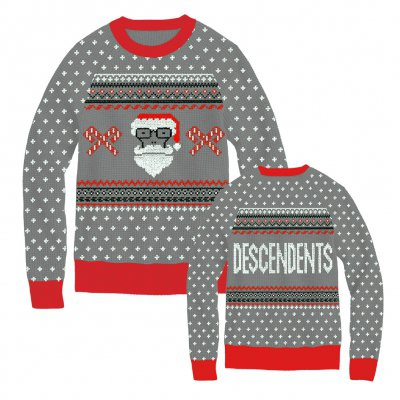 Descendents - Santa Milo Grey | Knit Sweatshirt