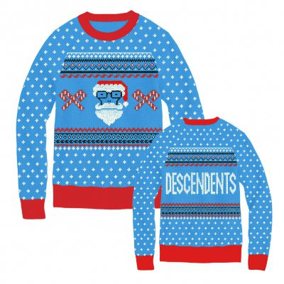 Descendents - Santa Milo Blue | Knit Sweatshirt
