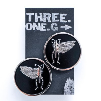 The Locust - Logo | Enamel Pin Set