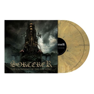 metal-blade - The Crowning ... | 2xGold Sand Marbled Vinyl
