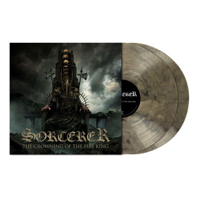 Sorcerer - The Crowning ... | 2xClear/Black Marbled Vinyl