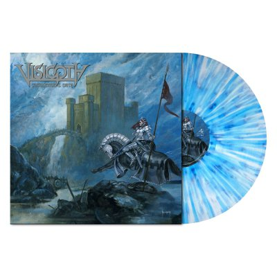 Visigoth - Conqueror's Oath | White/Blue Splatter Vinyl