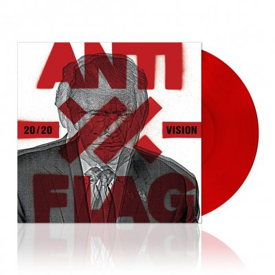 anti-flag - 20/20 Vision | Red Vinyl