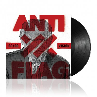anti-flag - 20/20 Vision | Black Vinyl