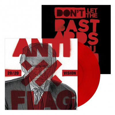 Anti-Flag - 20/20 Vision | Red Vinyl+Signed Print