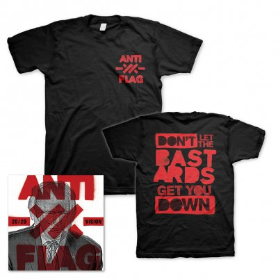 anti-flag - 20/20 Vision | CD+T-Shirt Bundle