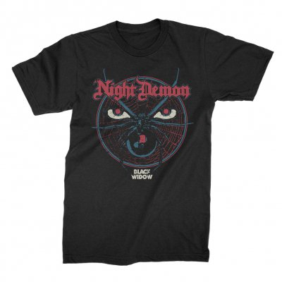 night-demon - Black Widow | T-Shirt