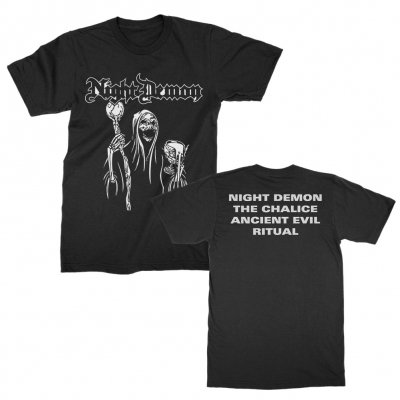night-demon - Black EP Cover | T-Shirt