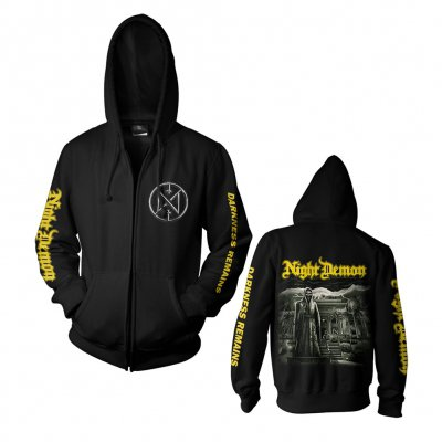 night-demon - Darkness Remains Cover | Zip-Hood