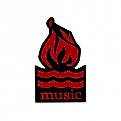 Hot Water Music - Logo | Enamel Pin
