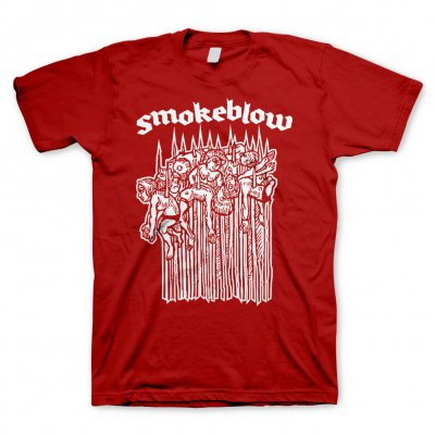 Smoke Blow - Pfähle Rot | T-Shirt