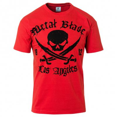 Metal Blade - Pirate Logo LA Red | T-Shirt