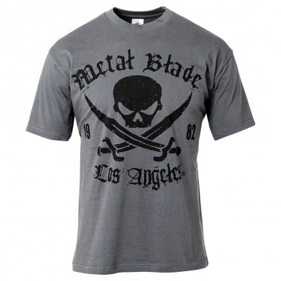 Metal Blade - Pirate Logo LA Grey | T-Shirt