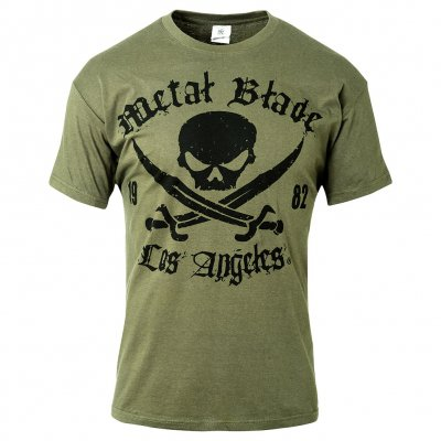 Metal Blade - Pirate Logo LA Green | T-Shirt