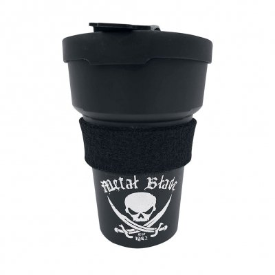 Metal Blade - Pirate Logo | Black To-Go Mug
