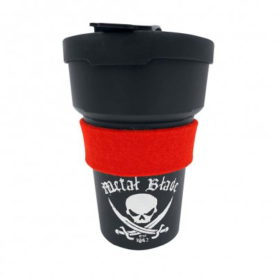 Metal Blade - Pirate Logo | Red To-Go Mug