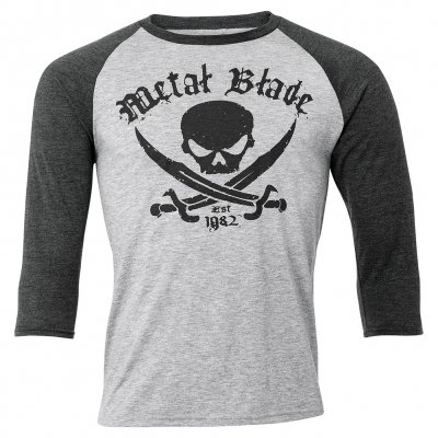 Pirate Logo Est. | 3/4 Baseball Longsleeve