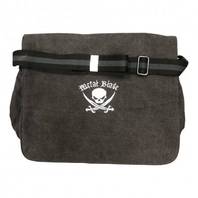 Pirate Logo | Canvas Messenger Bag