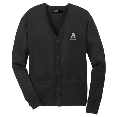shop - D Skull Black | Cardigan