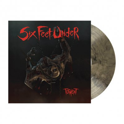 shop - Torment | Clear/Black Marbled Vinyl