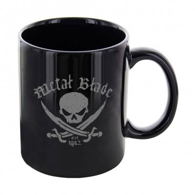 shop - Pirate Logo Est. | Black Mug