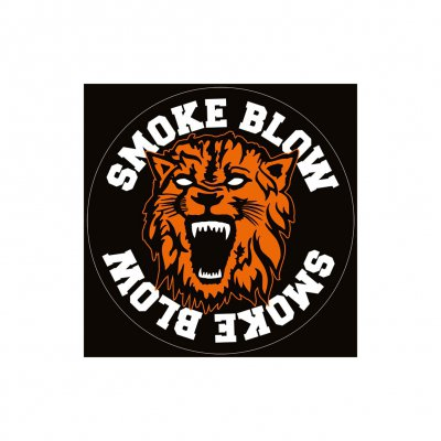 Smoke Blow - Löwe Logo | Sticker