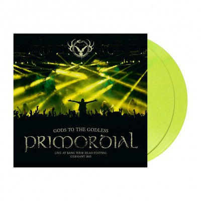 Primordial - Gods To The Godless | 2xYellow Vinyl