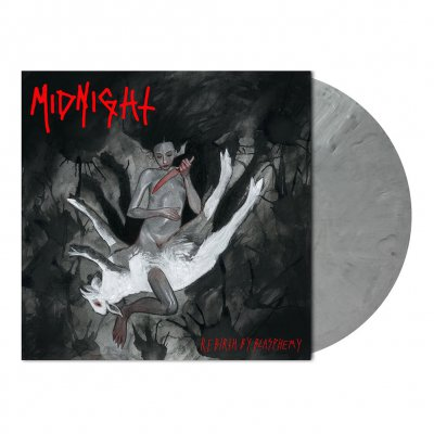 Midnight - Rebirth By Blasphemy | Grey Marbled Vinyl